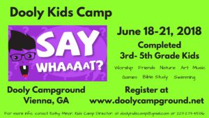 Dooly Kids Camp 2018