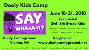 Dooly Kids Camp 2018
